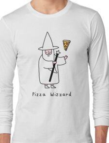 Pizza Wizzard Long Sleeve T-Shirt