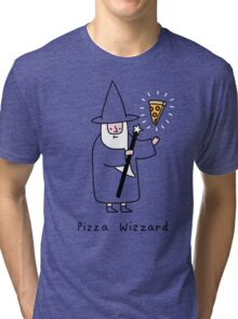 Pizza Wizzard Tri-blend T-Shirt