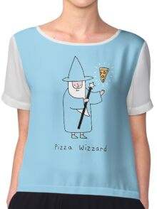 Pizza Wizzard Chiffon Top