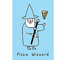 Pizza Wizzard Photographic Print