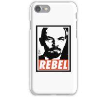 Lenin REBEL (OBEY RIPOFF) iPhone Case/Skin
