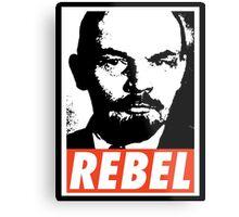 Lenin REBEL (OBEY RIPOFF) Metal Print