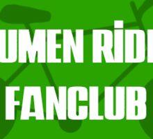 Mumen Rider Fanclub Patch Sticker