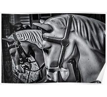 Merry-Go-Round-Horses Poster