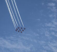Red Arrows 2 by Jack Steel