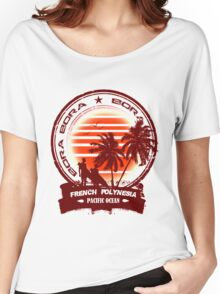 Bora Bora Night Party Women's Relaxed Fit T-Shirt