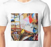 Paris through the Window - Tribute to Chagall Unisex T-Shirt