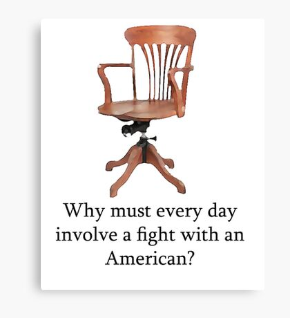 Dowager Countess: why must every day involve a fight with an American? Canvas Print