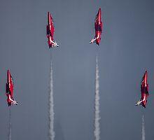 Red Arrows Symmetry by Jack Steel