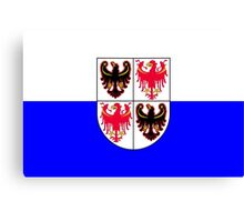 Trentino-South Tyrol Flag Canvas Print