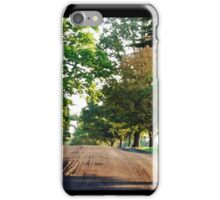 The Road to the Governor's Mansion iPhone Case/Skin
