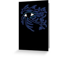 Tribal Eye of Horus Greeting Card