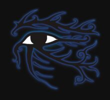 Tribal Eye of Horus by Leah McNeir