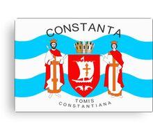 Constanta Flag Canvas Print