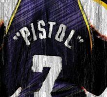Pete Maravich - The Pistol  Sticker
