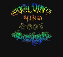 Evolving Mind Body Soul Womens Fitted T-Shirt