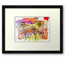 Midnight Garden cycle14 1 Framed Print