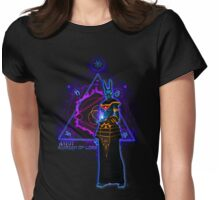 ☼ ☥  Anput, Guardian of Lore ☥ ☾  ~ (Anubis' Feminine Aspect) Womens Fitted T-Shirt