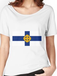 Church In Wales Flag Women's Relaxed Fit T-Shirt