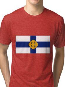 Church In Wales Flag Tri-blend T-Shirt