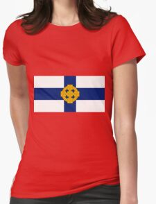 Church In Wales Flag Womens Fitted T-Shirt