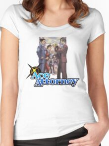 Pheonix Wright Ace Attorney Women's Fitted Scoop T-Shirt