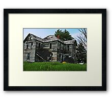 "No Place Like Home ""HDR"" Framed Print"