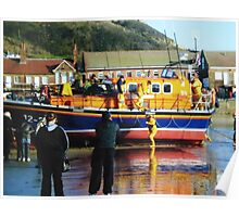 Scarborough lifeboat Poster
