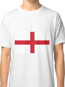 Flag Of England And Church Of England Flag Classic T-Shirt