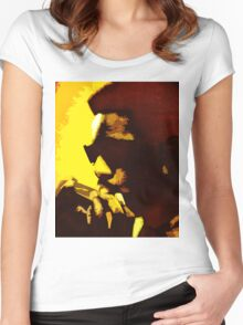 Stevie Wonder - Innervisions Women's Fitted Scoop T-Shirt