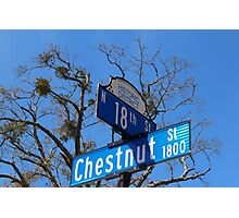 Street Signs Photographic Print