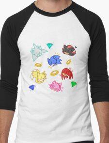 Sonic and friends! Men's Baseball ¾ T-Shirt