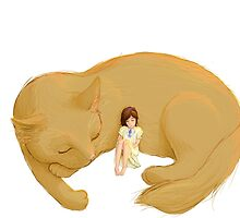 Big cat by genevieve hill