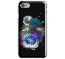 Cosmic geometric peace iPhone Case/Skin