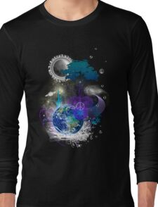 Cosmic geometric peace Long Sleeve T-Shirt