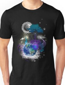 Cosmic geometric peace Unisex T-Shirt