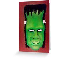 Frank acrylic painting Greeting Card