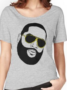 Badly Drawn Rick Ross Women's Relaxed Fit T-Shirt