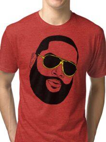 Badly Drawn Rick Ross Tri-blend T-Shirt