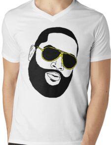 Badly Drawn Rick Ross Mens V-Neck T-Shirt