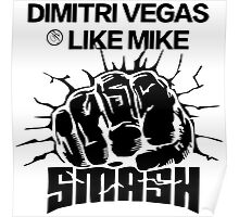 DIMITRI VEGAS LIKE MIKE (Black) Poster