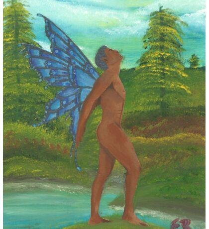 Male Fairy Sticker