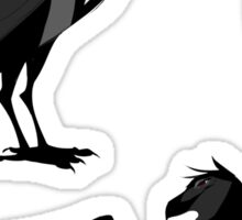 Sebastian Michaelis the Raven Sticker