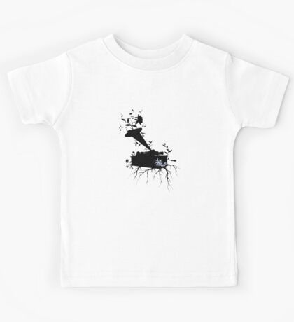 Phonograph, Musical Roots ~ surreal version2 Kids Tee