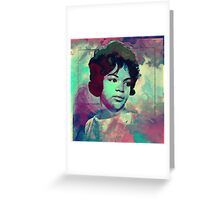 Wendy Rene - After Laughter Greeting Card