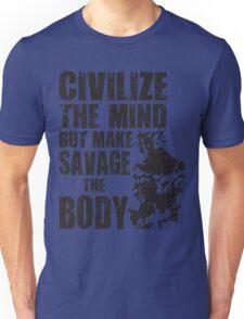 Make Savage The Body (Ripped Saiyan) Unisex T-Shirt
