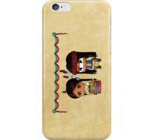 Chibi American Indians iPhone Case/Skin