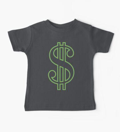 Dollar Sign Baby Tee