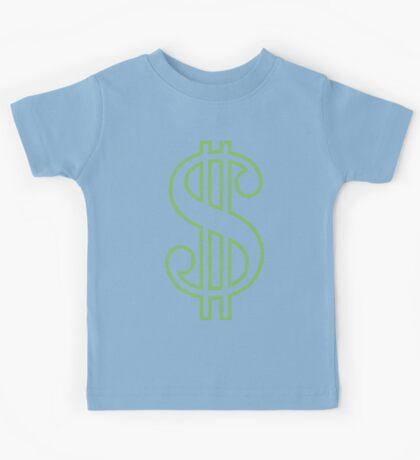 Dollar Sign Kids Tee