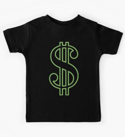 Dollar Sign Kids Tee